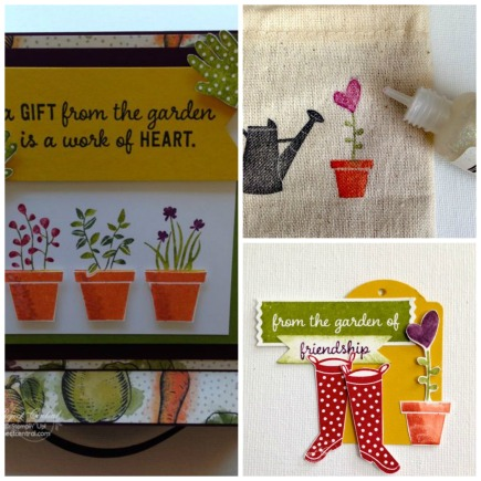Farmers Market Easel Card Gift Set SP