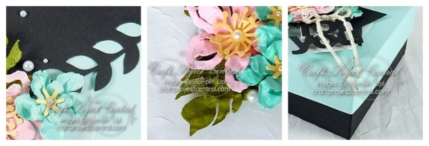 Faux Leather Flower Pin Gift Set SP