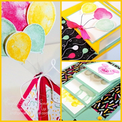 #imbringingbirthdaysback Fancy Fold Cards & Treat Box SP