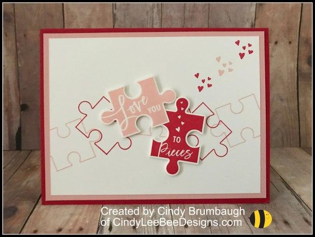 Su Love You To Pieces Cindy Lee Bee Designs