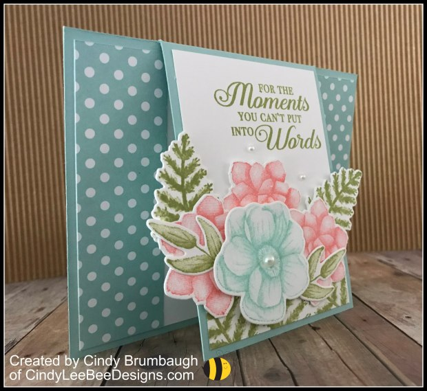 6fe1e541d The images stamp so beautifully with a very detailed realistic impression.  I was in a blue pink mood when I designed this card.