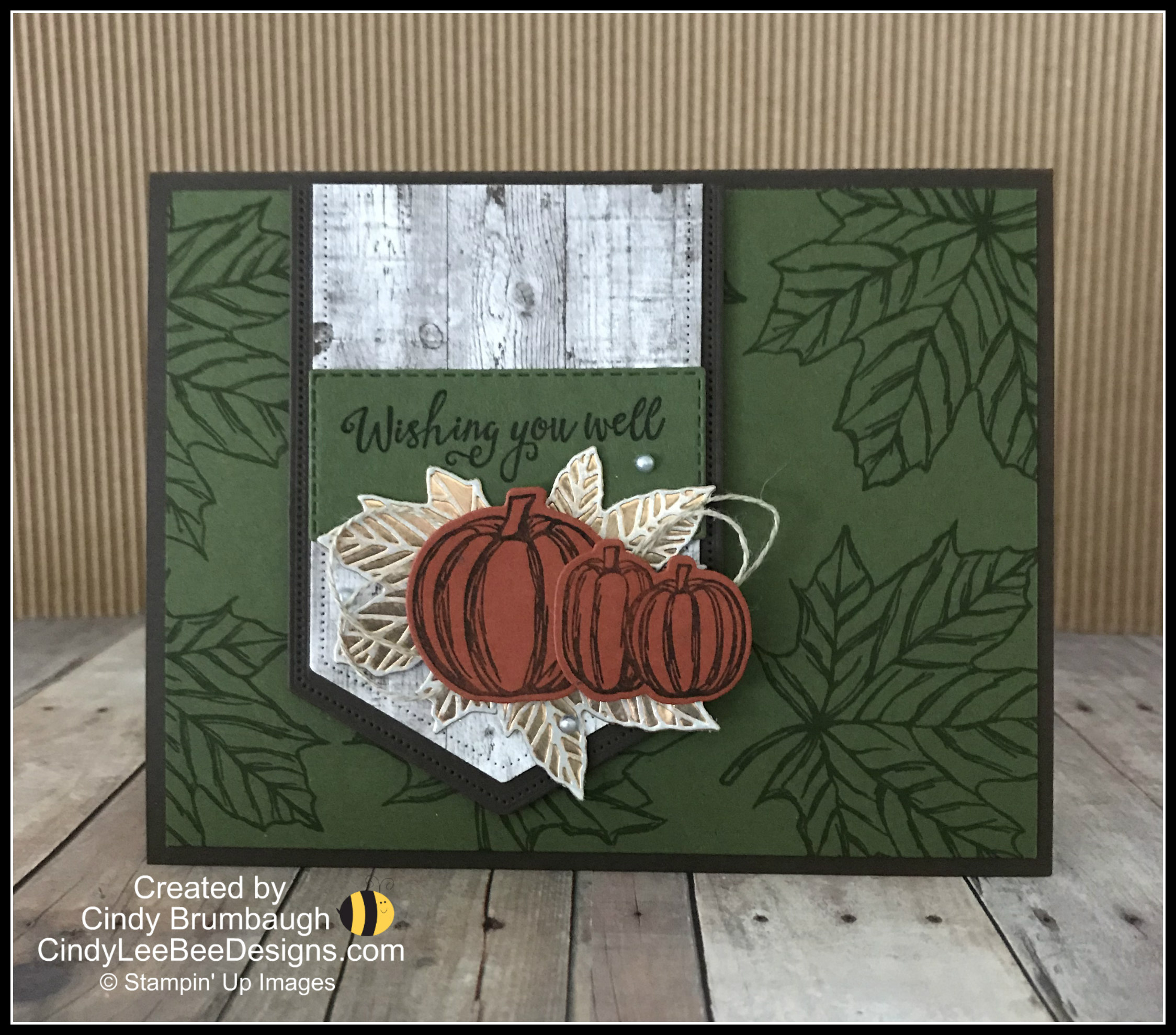 Cindy Witmer Designs In 2019: Stampin' Up Come To Gather